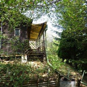 Prodej zahrady s chatou v Brno- Soběšice 1115m2