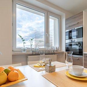 Pronájem krásného bytu 2+1 v rodinném domě v Troubsku, 55 m2, parkování u domu