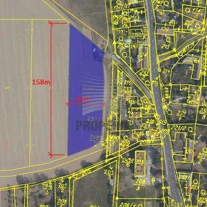 Prodej pozemku v obci Paseka u Šternberka o ploše 5298m2