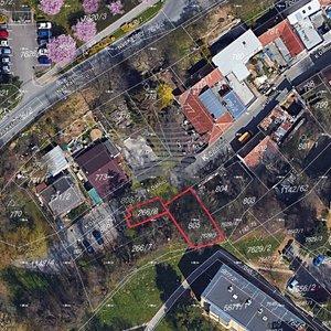 Prodej stavebního pozemku o CP 207m2, Brno - Bystrc