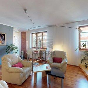 Prodej nadstandardní novostavby bytu OV 3+kk Brno-Starý Lískovec, ul. Malostranská, terasa, šatna