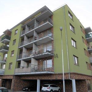 Prodej zděné novostavby bytu v OV 2+kk + balkon (předěláno na 3+kk), ul. U Leskavy, Brno - Starý Lískovec, 5. NP/6, výtah, CP 66 m2