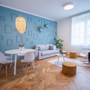 Prodej vkusně zrekonstruovaného bytu 3+kk o CP 90m2, ul. Úvoz, Brno - Veveří