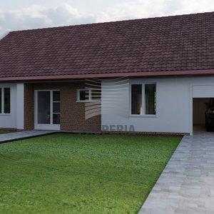 Prodej dokončené novostavby RD 5+kk o ZP 158m2, 2 garážové stání, zahrada, Ořechov