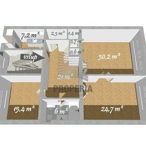 Prode Bytu 3+1 v OV o CP 112m² -  Brno, ulice Gorkého