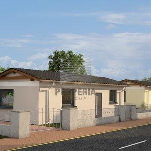 Prodej bezbariérové novostavby samostatně stojícího RD 2+kk s terasou a parkovacím stáním, Podbřežice, okr. Vyškov