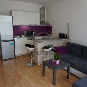 Pronájem novostavby bytu 1+kk Brno-Bystrc, Hvozdecká