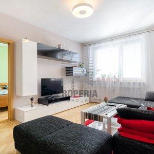 Prodej zrekonstruovaného zděného bytu v OV 3+1, ul. 24. dubna, Želešice (okr. Brno-venkov), CP 60 m2, dům po revitalizaci