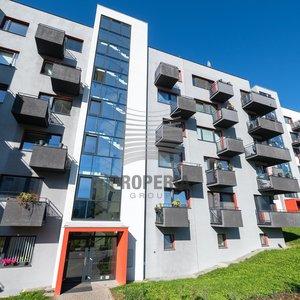 Pronájem novostavby bytu 2+kk o CP 61m² - Brno - Líšeň, ul. Houbalova