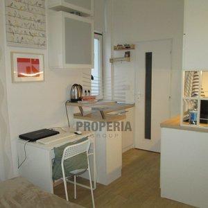 Pronájem zařízeného bytu 1+kk  se sklepem, Brno - centrum, ul. Koliště