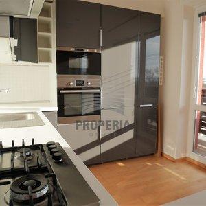 Prodej zrekonstruovaného zděného bytu v OV 3+kk + lodžie, ul. V Sídlišti, Rousínov (okr. Vyškov), CP bytu 73,4 m2 + 5,9 m2 sklep