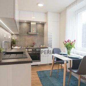 Pronájem velmi pěkného bytu 2+1 Brno-Veveří, ul. Úvoz, kompletně zařízený