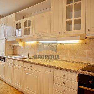 Prodej bytu v OV 4+1 + zasklený balkon, ul. Bořetická, Brno - Vinohrady, CP 80 m2, klimatizace, alarm