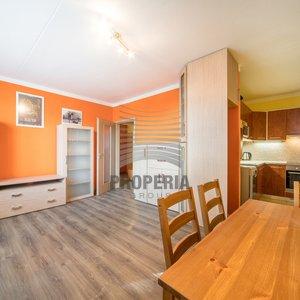 Prodej zrekonstruovaného bytu v OV 2+kk, ul. Kosíkova, Brno - Líšeň, CP 40 m2, zděné bytové jádro, dům po revitalizaci.