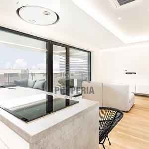 Prodej luxusního bytu 2+kk s terasou a krásným výhledem o CP 85,5m2, ul. Kumpoštova, Brno - Sadová