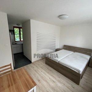 Pronájem byty 1+kk o CP 25m², Brno-Štýřice, ul. Gallšova
