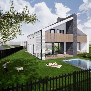 Prodej zděné novostavby RD 4+kk + garáž + terasa, ul. Polní, Želešice (okr. Brno-venkov) CP pozemku 409 m2, ZP domu 112 m2 a UP 147 m2, klimatizace.