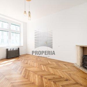 Prodej bytu v OV 3+1 + lodžie, ul. Úvoz, Brno, CP 80 m2, podlahy po renovaci.