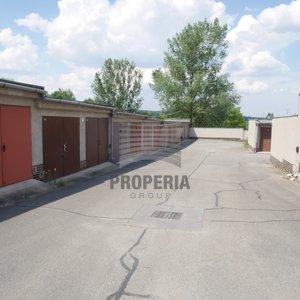 Prodej garáže v OV a na vlastním pozemku, ul. Větrná, Brno - Bystrc, ZP 19 m2