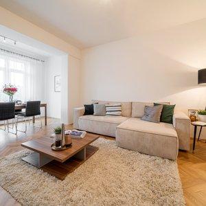 2+kk, 73 m²  + balkon a 2x sklep - Brno - Černá Pole