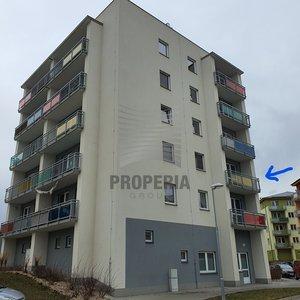 Pronájem novostavby bytu 2+kk s balkonem o CP 50m2, Brno - Šlapanice, ul. Brněnská Pole