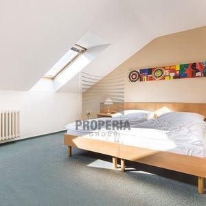 Vybavený byt 1+kk k pronájmu v Rezidenci Komárovské nábřeží