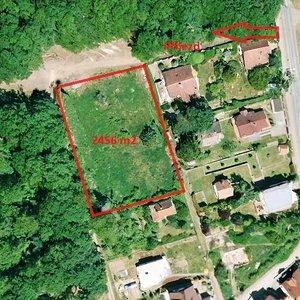 Prodej stavebního pozemku 2456 m2, Brno-Útěchov