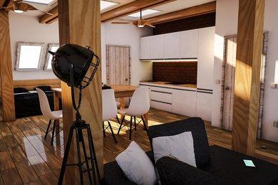Prodej podkrovního bytu  3+kk+S+Z v RD, 72,51 m² a zahrady 70,50 m² , Plzeň - Slovany, POZOR JARNÍ SLEVA 5% DO KONCE ČERVNA !, Ev.č.: 00018