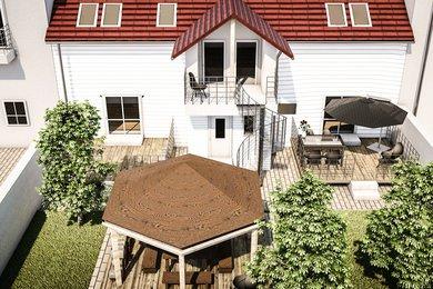 Prodej RD 366 m2 s  čtyřmi byty, venkovními terasami a zahradou,  Plzeň - Slovany, POZOR JARNÍ SLEVA 5% DO KONCE ČERVNA, Ev.č.: 00020