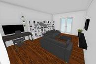 modelace hlavní místnost