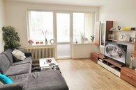 obývací pokoj s zatepleným balkónem