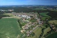 Letecký pohled H. Bříza