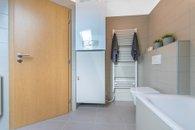 Vybavení koupelny v patře