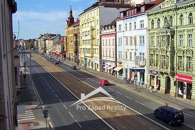 Pronájem výrobních nebo  obchodních prostor v centru Plzně, 230 m², Ev.č.: 00054