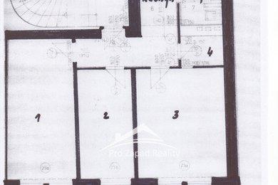 Pronájem tří kanceláří v 3+1, 68 m²  - Plzeň - Vnitřní Město, Ev.č.: 00073