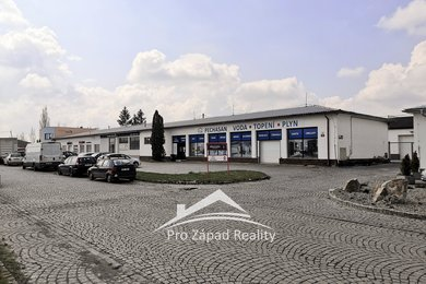 Pronájem skladové nebo výrobní plochy 209m² + vjezd a zázemí, Plzeň - Koterov, Ev.č.: 00076