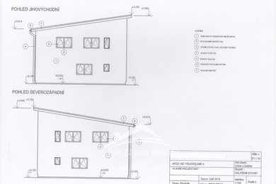 Prodej posledního pozemku pro bydlení s projektem a stavebním povolením, 593 m² - Plzeň 10-Lhota, Ev.č.: 00079