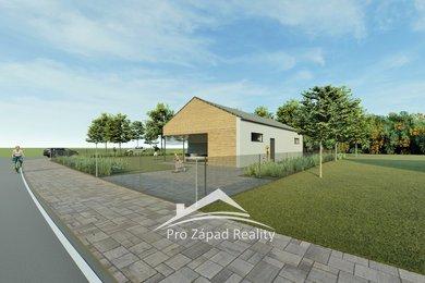Prodej  pozemků pro bydlení, 816 m² + dvě parkovací stání, Klatovy - Štěpánovice, Ev.č.: 00083