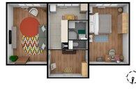 Plánek s nábytkem