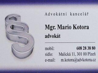 Právní služby a bankovní úschovy
