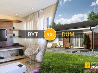 Byt nebo dům na vlastním pozemku ?