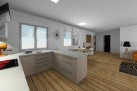 RD Sněhotice typ DW89_vizualizace kuchyně 2