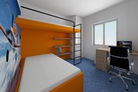 RD Sněhotice typ DW60_vizualizace pokoje dětí 3