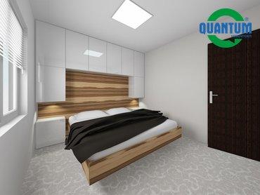 RD Sněhotice typ DW60_vizualizace ložnice rodičů 1