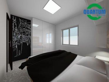 RD Sněhotice typ DW60_vizualizace ložnice rodičů 2