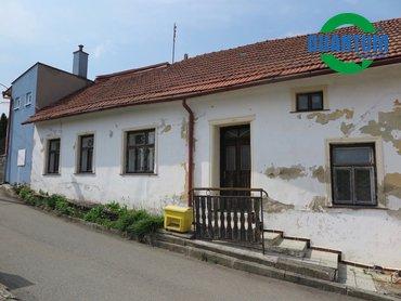 Prodej domu 2+1, 55 m² s dvorkem v obci Moravské Málkovice