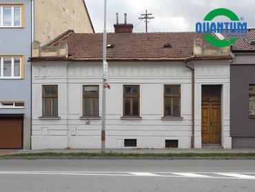 Prodej domu 3+1 se zahrádkou, ul. Žižkova, Vyškov - město