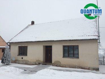Prodej domu 2+1 se zahradou 627 m² v obci Hluboké Dvory