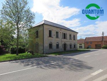 Prodej nemovitosti k investici s pozemkem 421 m² v obci Bohdalice