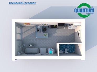 Pronájem komerčního prostoru 34 m² - ul. Kašíkova, Vyškov